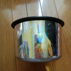 Tupperware Silver Hologram Canister